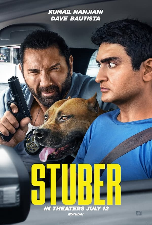 First trailer for Dave Bautista, Kumail Nanjiani Comedy 'Stuber' Released