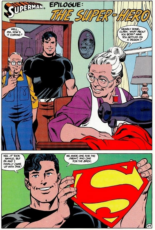 Doomsday Clock as a Love Letter to Superman (Spoilers)