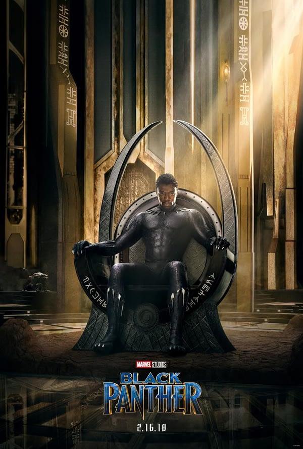 Black Panther Poster - Marvel