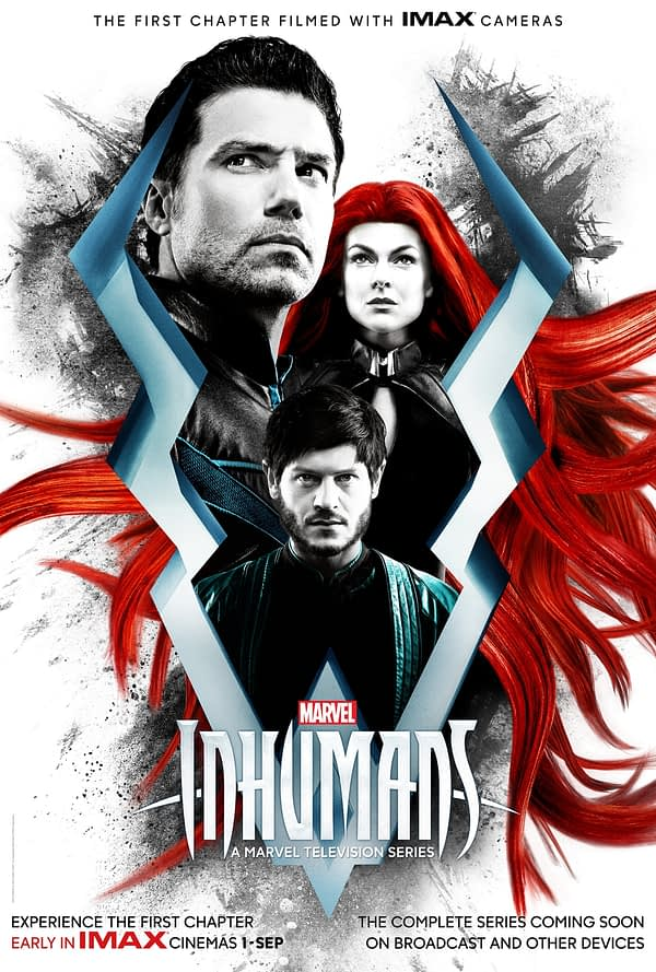 A Brand New IMAX Poster For Marvel's New TV Show, The Inhumans