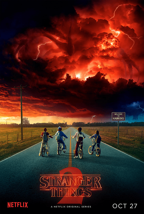 stranger things 2 new poster
