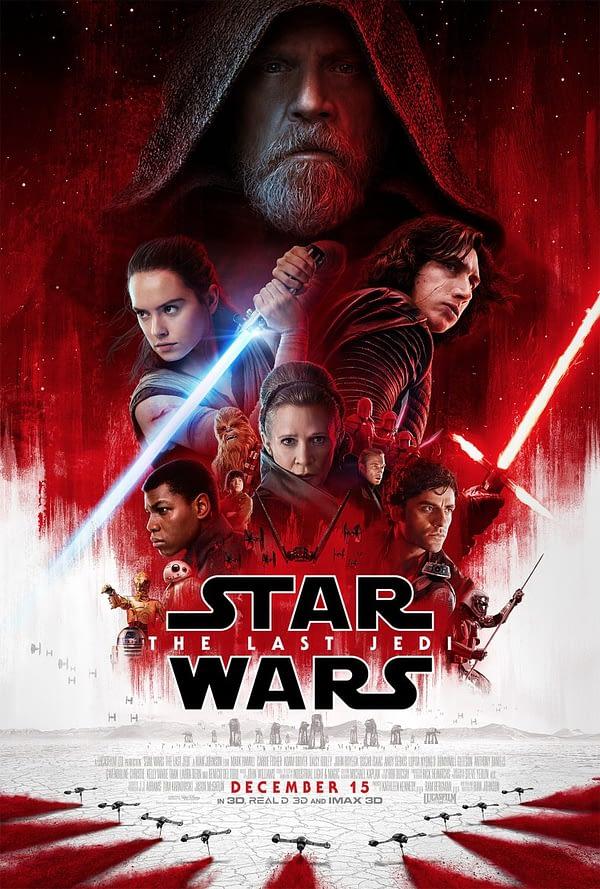 The Last Jedi Poster Rian Johnson