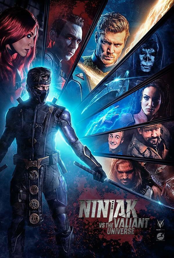 Ninjak vs. the Valiant Universe