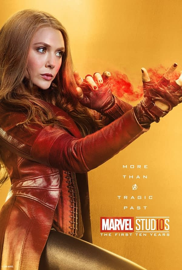 Marvel Studios More Than A Hero Poster Series Scarlet Witch