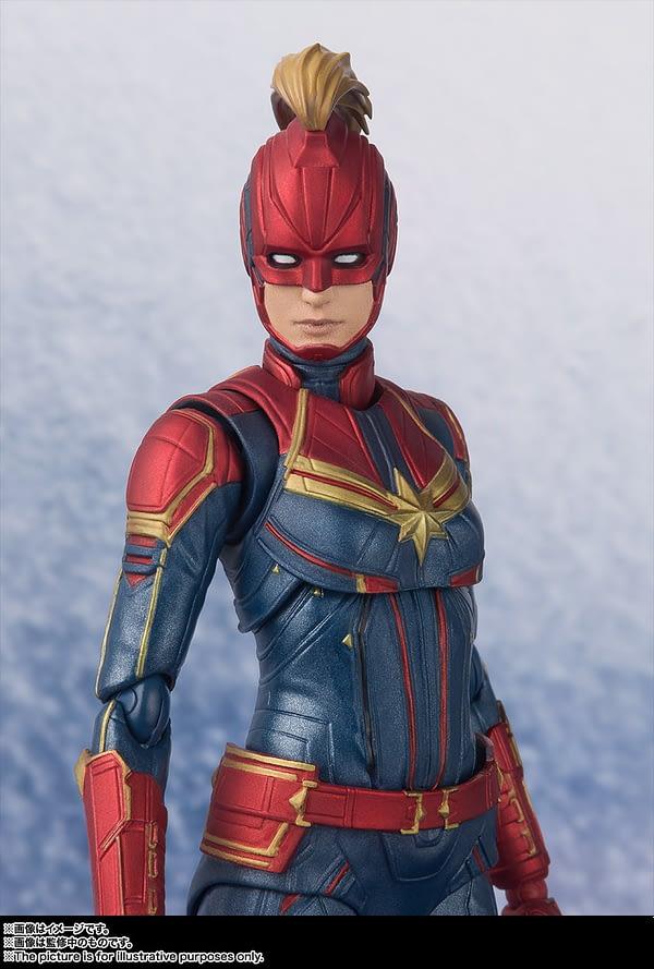 Sh Figuarts Captain Marvel 6