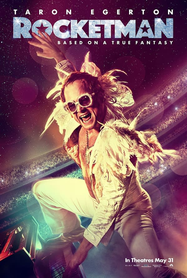 Taron Egerton Taks Elton John's Story in 'Rocketman' Featurette