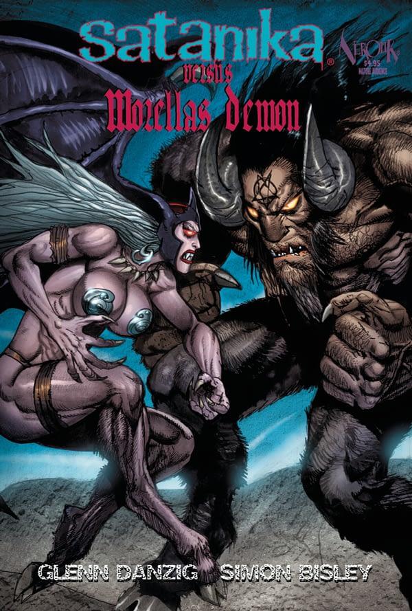 Simon Bisley Draws Glenn Danzig's Satanika Vs Morella's Demon in September