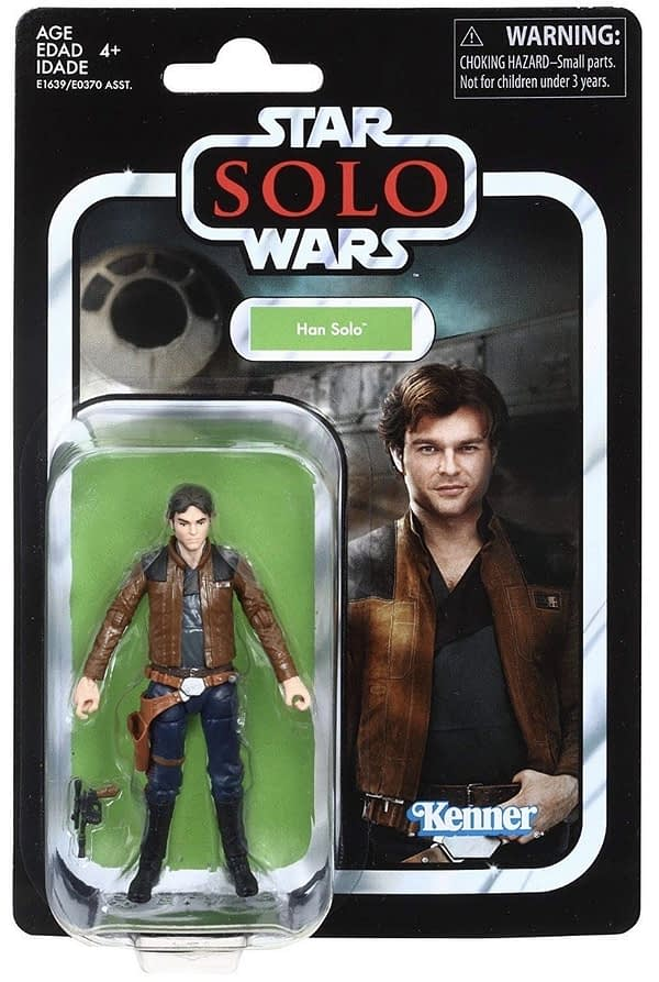 Star Wars Vintage Collection Han Solo Carded