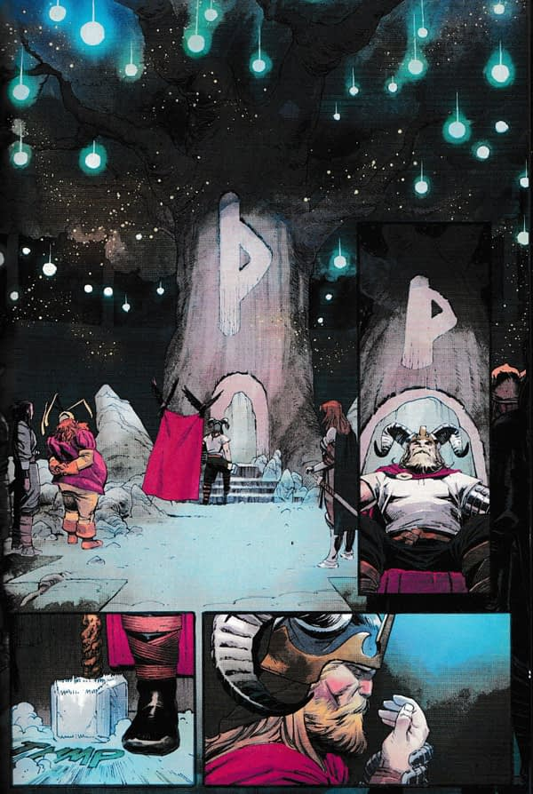 Exclusive: Our First Look at Thor #1 by Donny Cates and Nic Klein