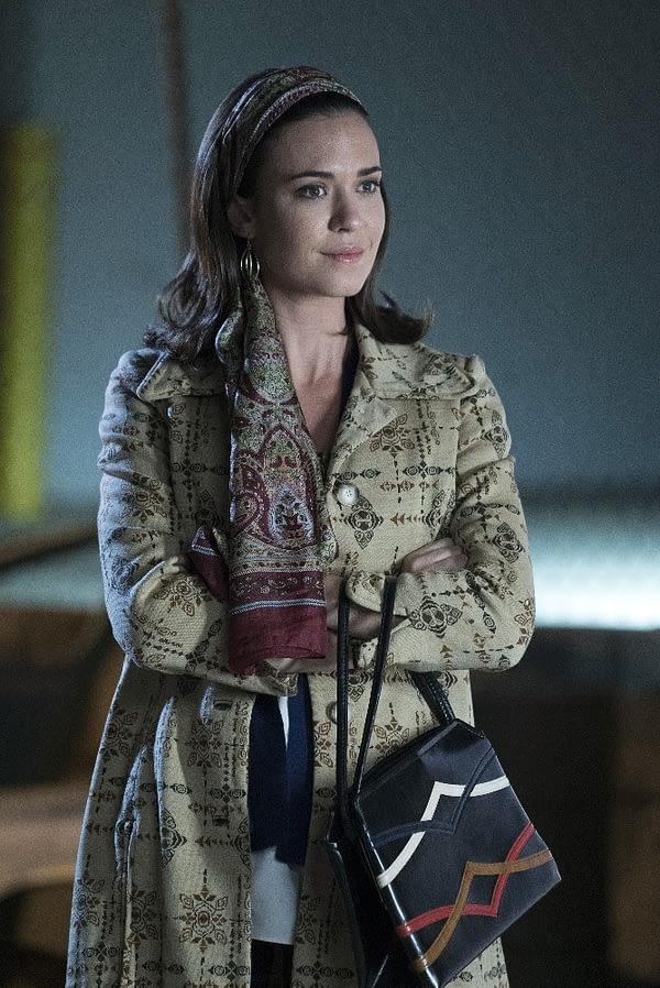 Supergirl Season 3 Odette Annabel Reign