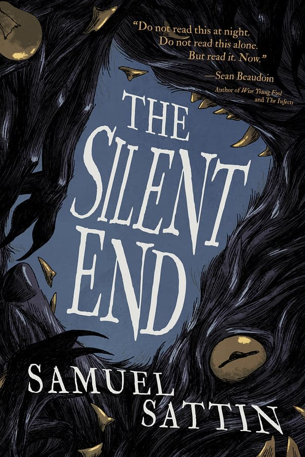 Sattin, THE SILENT END cover