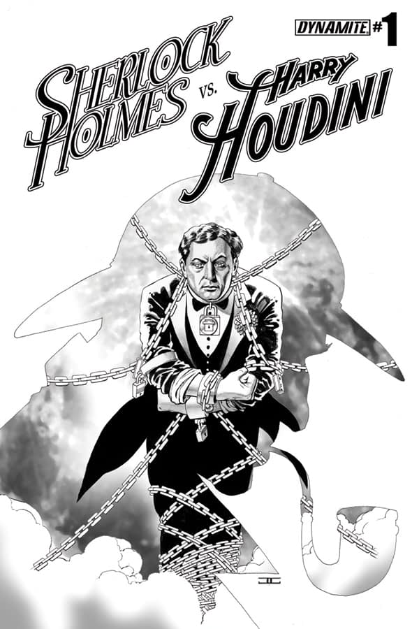 HolmesHoudini01-Cov-IncenCassadayBW