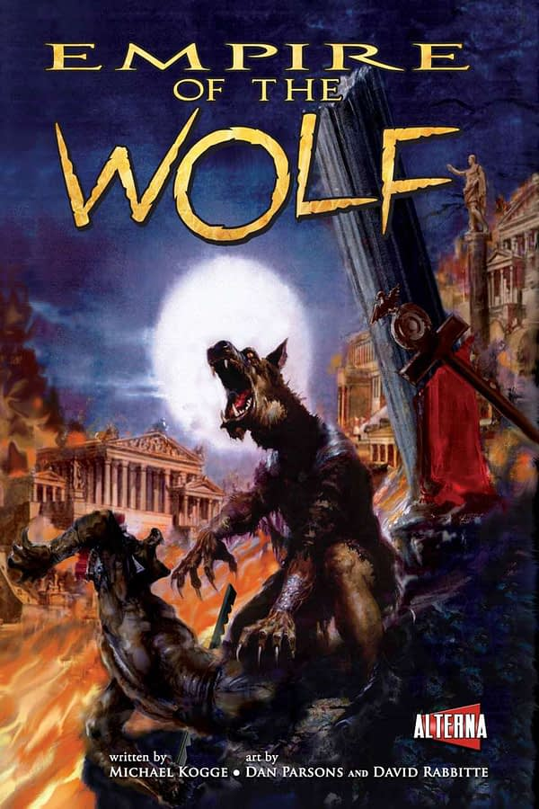 Empire of the Wolf - front cover