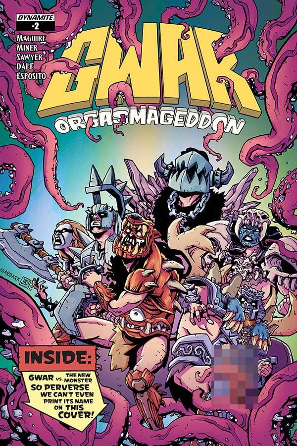 GWAR: Orgasmageddon #2 Cover A