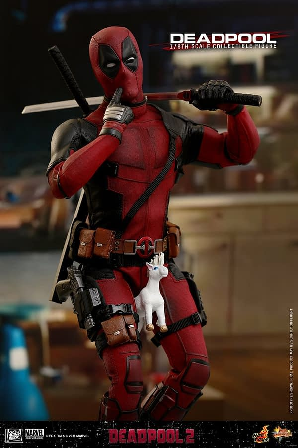 Hot Toys Deadpool 2 Deadpool 1