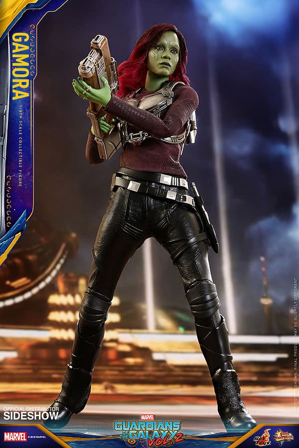 Hot Toys Guardians Vol. 2 Gamora 3