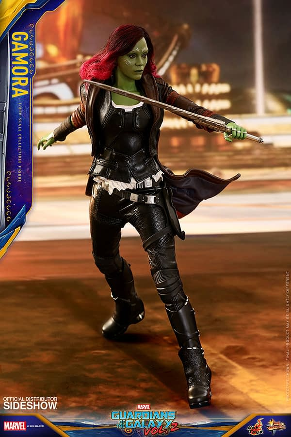 Hot Toys Guardians Vol. 2 Gamora 5