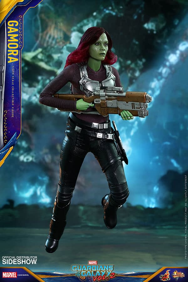 Hot Toys Guardians Vol. 2 Gamora 6
