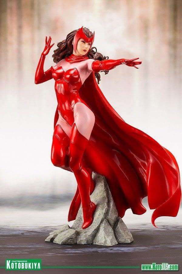 Kotobukiya Avengers Scarlet Witch Statue 1