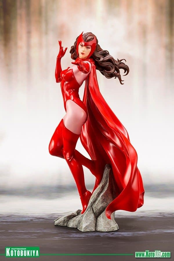 Kotobukiya Avengers Scarlet Witch Statue 4