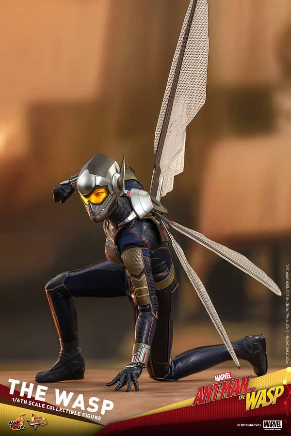 Ant Man and Wasp Hot Toys Figures 3