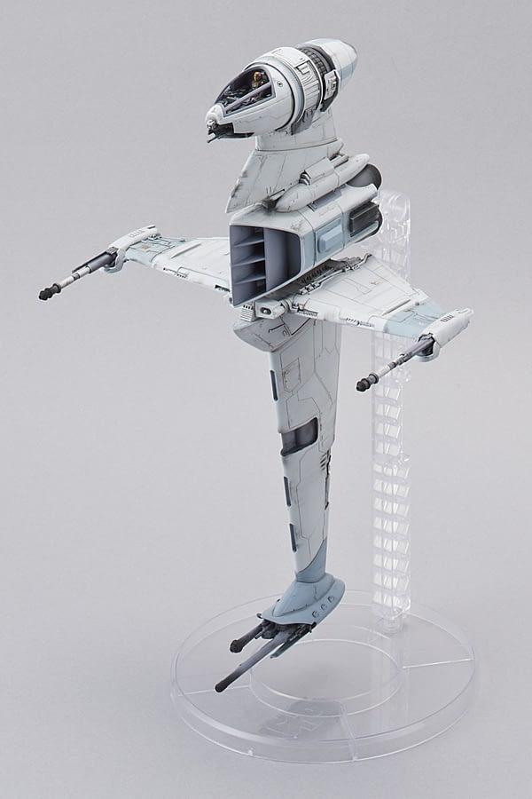 Bandai Star Wars B Wing Model Kit SDCC Exclusive