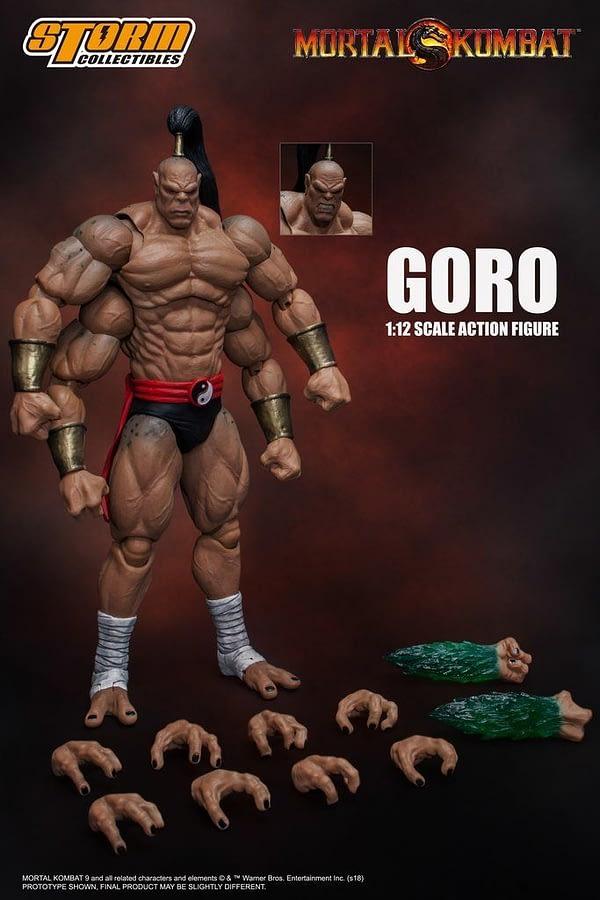 Storm Collectibles Mortal Kombat Goro 2