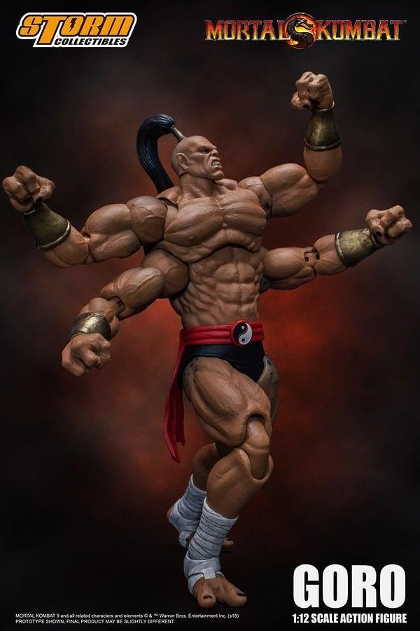 Storm Collectibles Mortal Kombat Goro 4