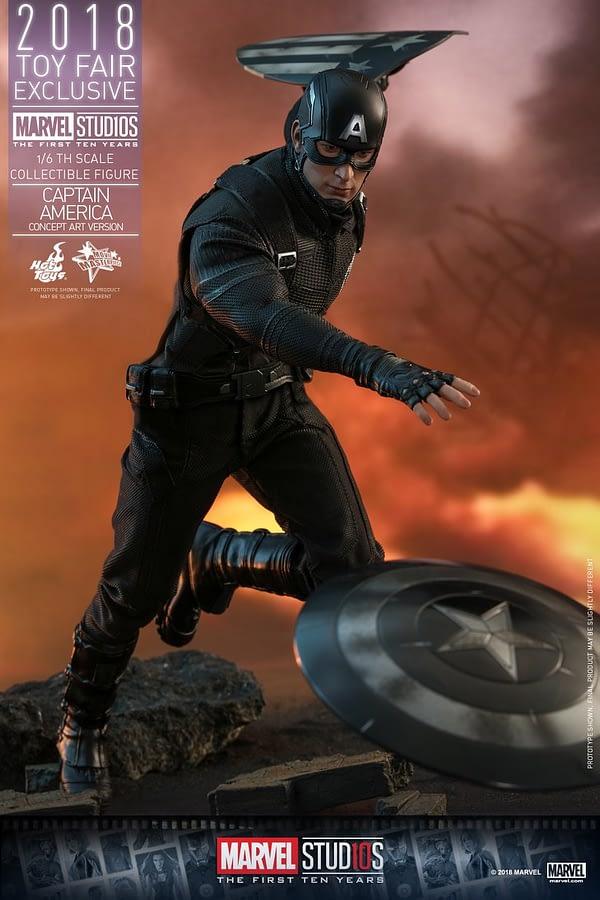 Hot Toys Concept Art Captain America 8