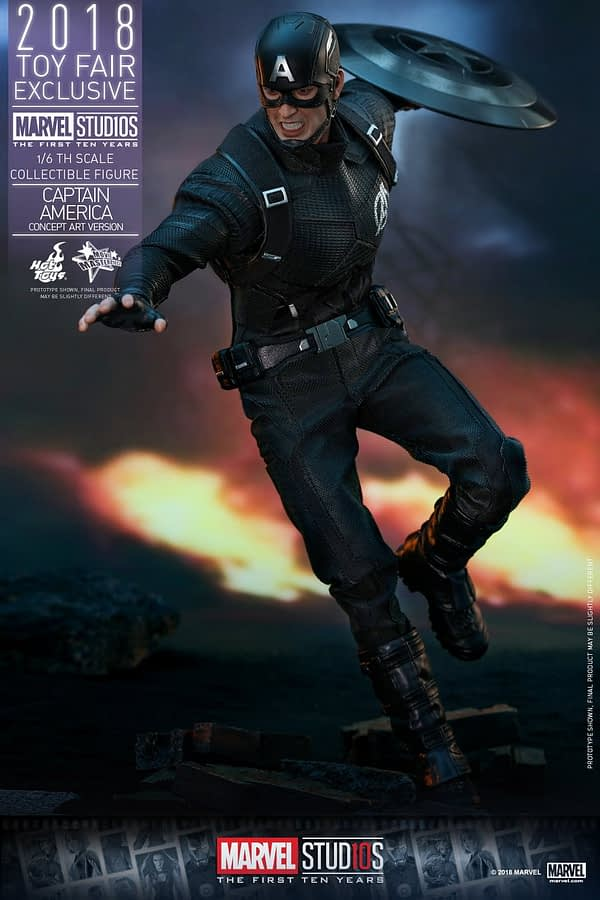 Hot Toys Concept Art Captain America 9