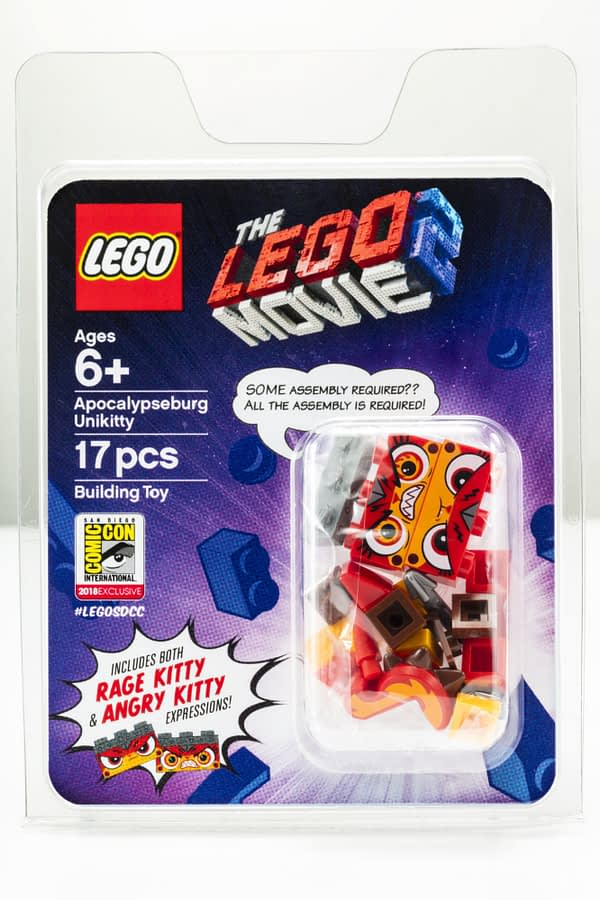 LEGO SDCC Unikitty Minifig Exlcusive Boxed