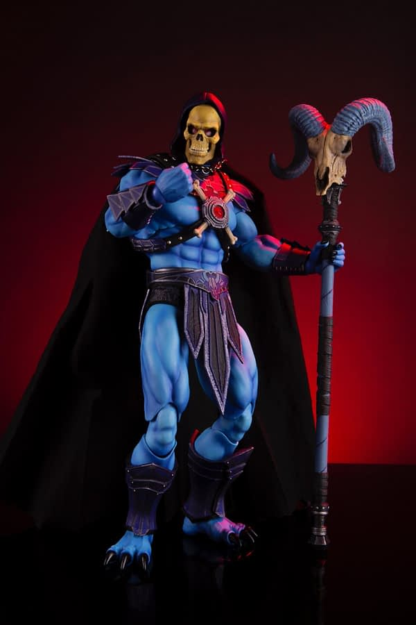 Masters of the Universe 1:6 Scale Skeletor Mondo Figure