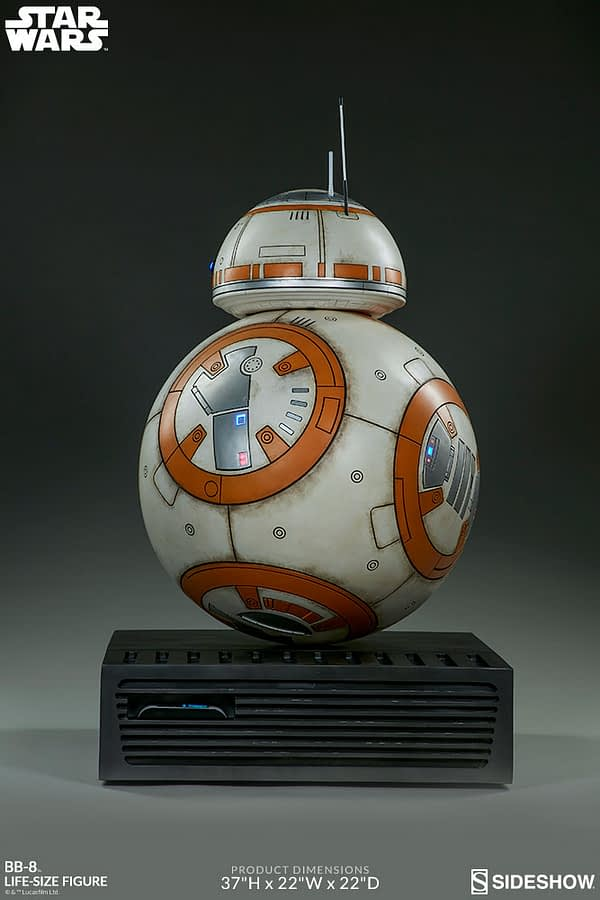 Sideshow Collectibles Star Wars Life Size BB-8 8