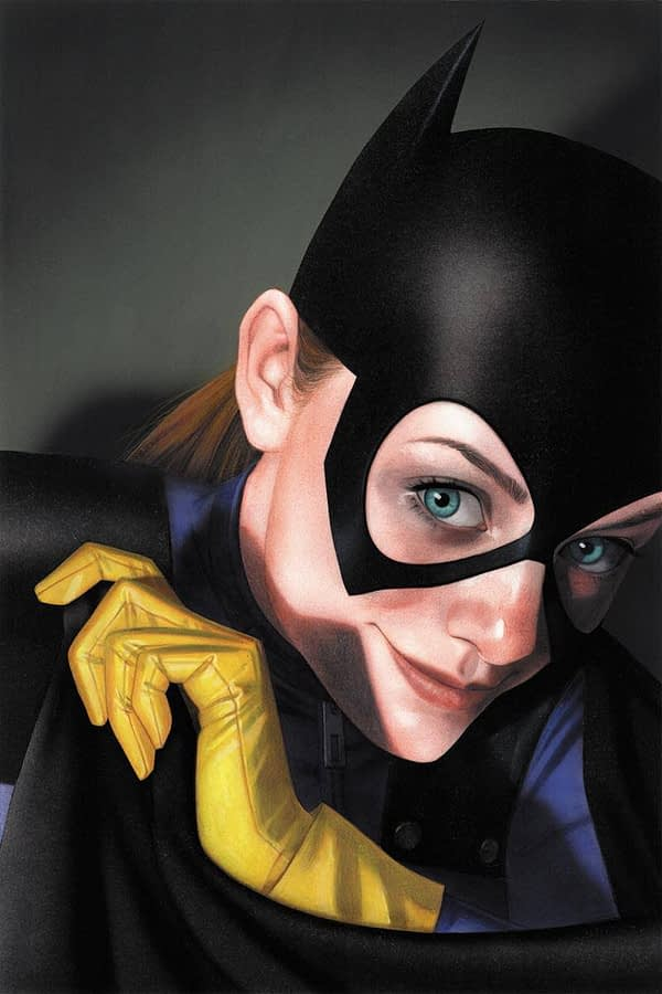 Joshua Middleton Cover to Batgirl #25