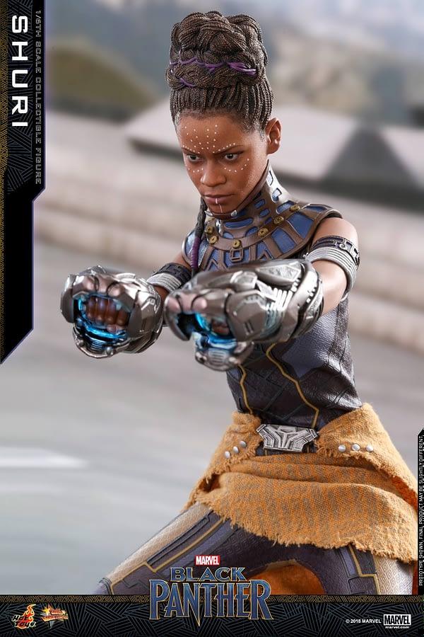 Black Panther Shuri Hot Toys 8