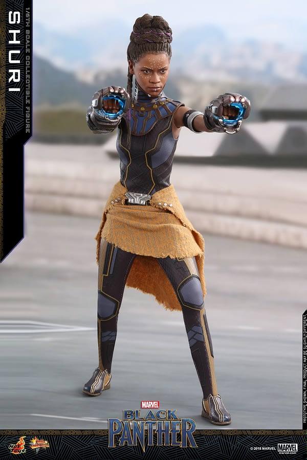 Black Panther Shuri Hot Toys 9