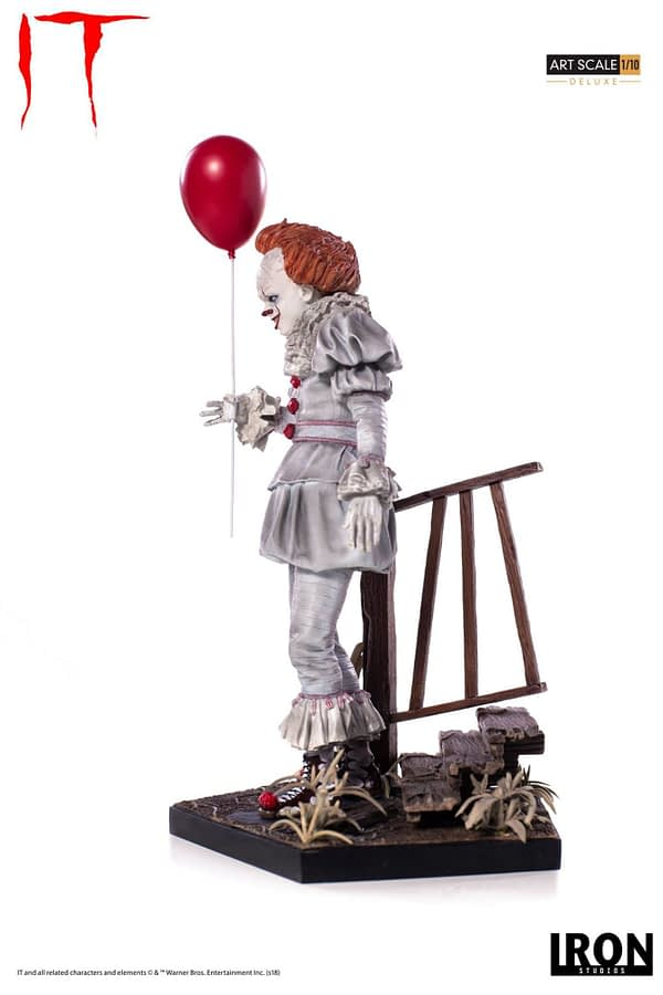Pennywise Iron Studios Deluxe Edition 8