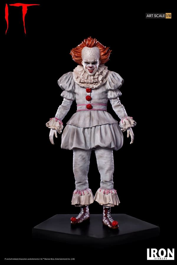 Pennywise Iron Studios Regualr Edition 5