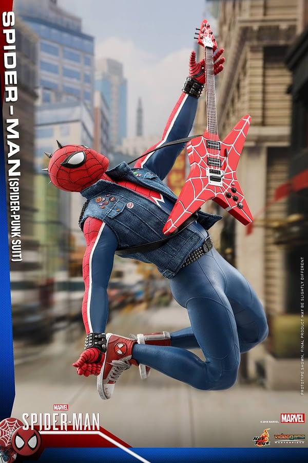 Hot Toys Spider Man Spider Punk Figure 1