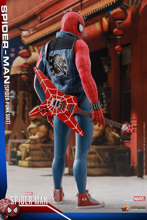 Hot Toys Spider Man Spider Punk Figure 15