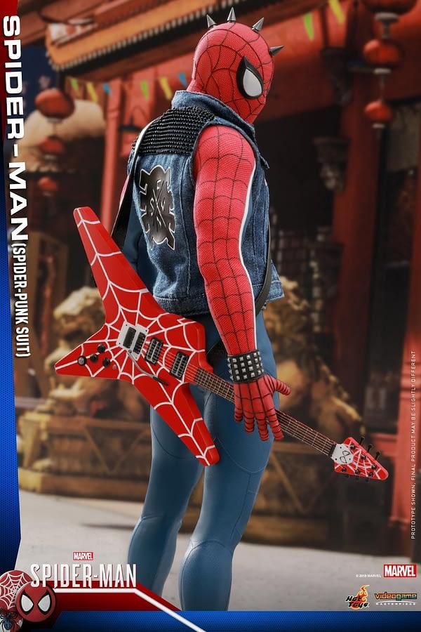 Hot Toys Spider Man Spider Punk Figure 2