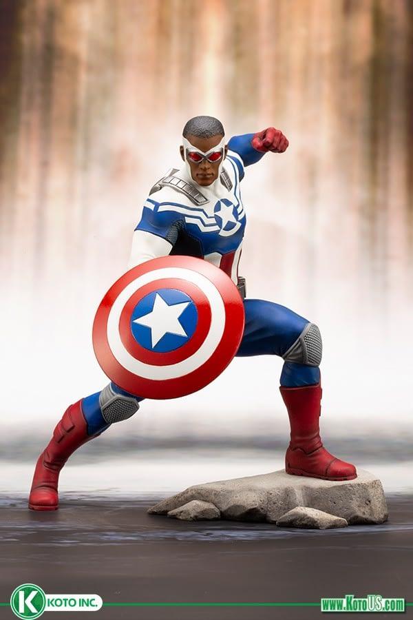 Sam Wilson Captain America Kotobukiya 1