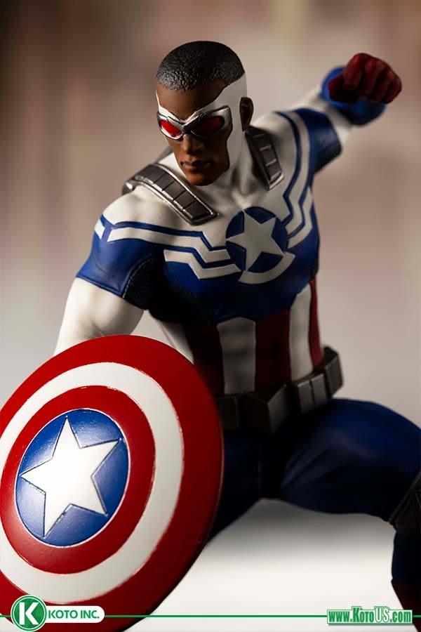 Sam Wilson Captain America Kotobukiya 2