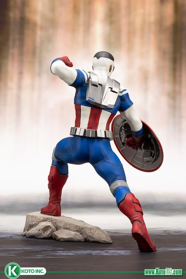 Sam Wilson Captain America Kotobukiya 3