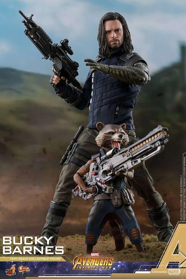 Bucky Barnes Infinity War Hot Toys 11