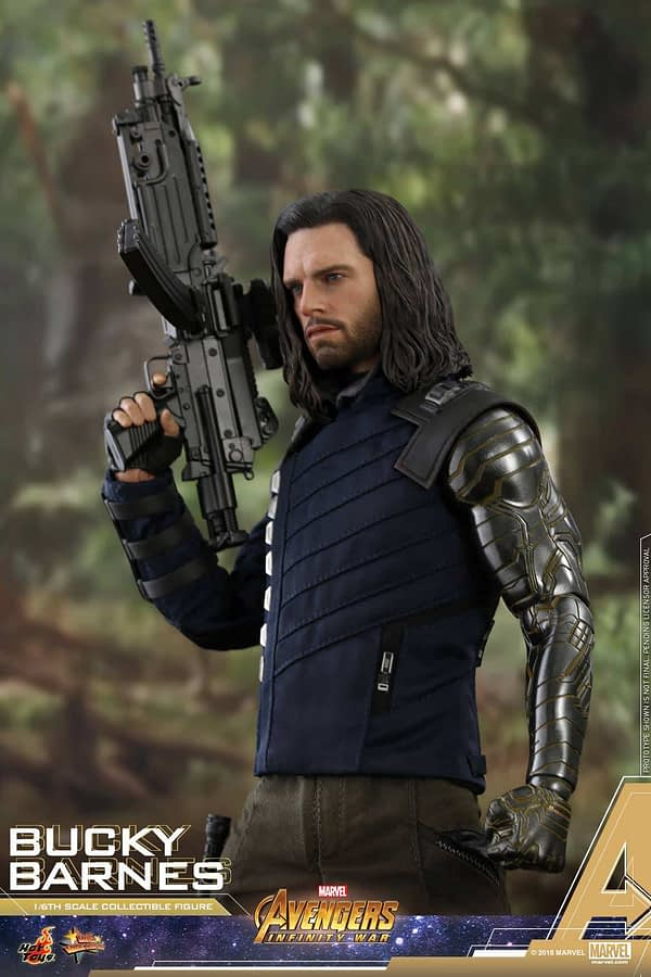 Bucky Barnes Infinity War Hot Toys 12