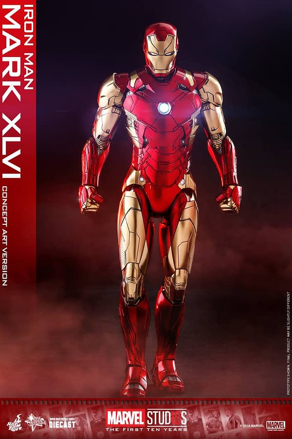 Hot Toys MCU 10th Anniversary Concept Iron Man 1