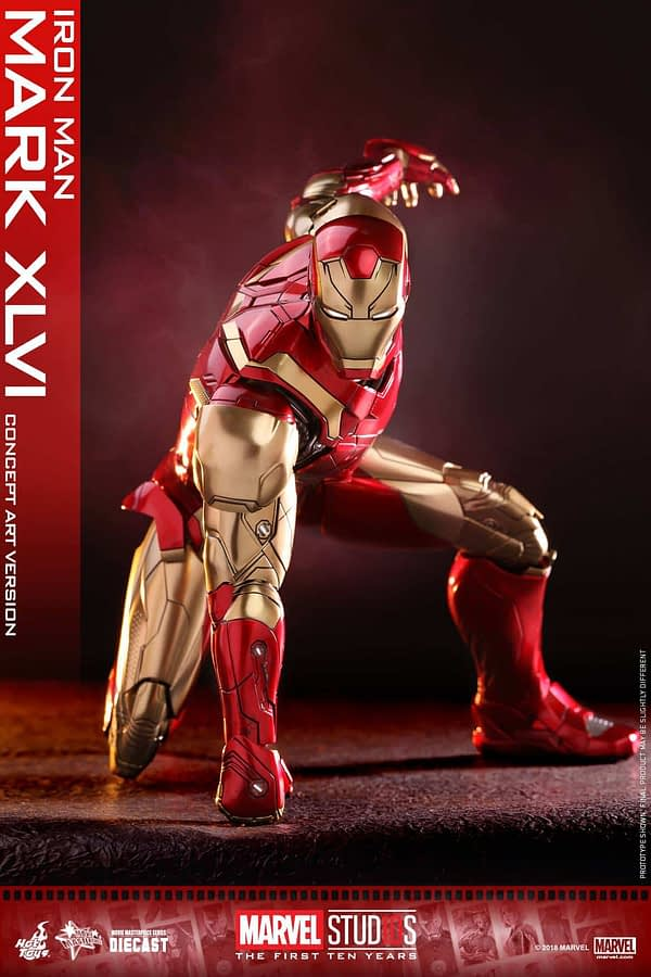 Hot Toys MCU 10th Anniversary Concept Iron Man 10