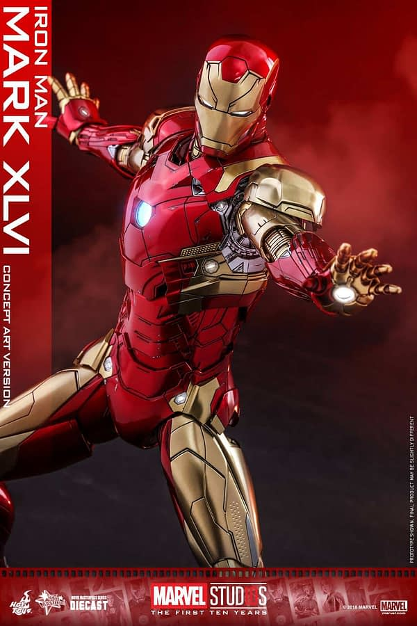 Hot Toys MCU 10th Anniversary Concept Iron Man 11