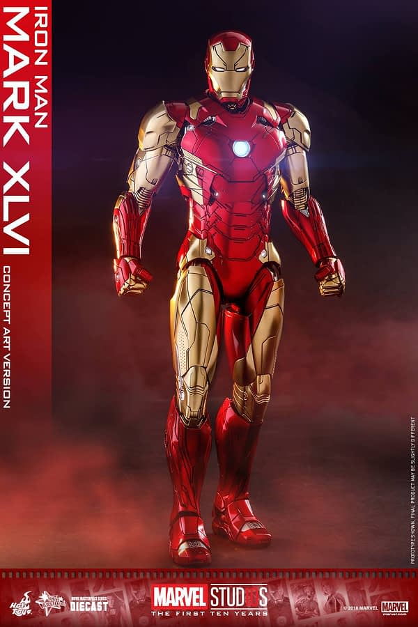 Hot Toys MCU 10th Anniversary Concept Iron Man 3
